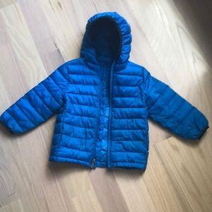 Gap kids light puffer jacket